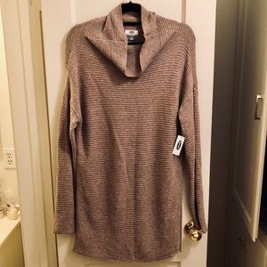 NWT Old Navy Large Chunky Turtleneck Sweater Dress